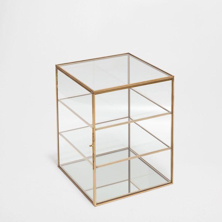 METALEN EN GLAZEN DOOS - Dozen - Decoratie | Zara Home Holland