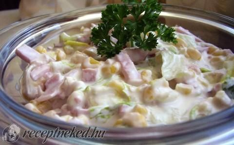 Brutus saláta recept fotóval