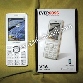 Evercoss V16, Featured Phone dengan TV Analog... Ga Pake Mahal.. :D