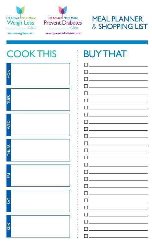 meal prep planner