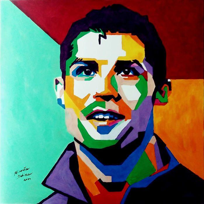 Catawiki online auction house: Mirosław Sobiech - Cristiano Ronaldo