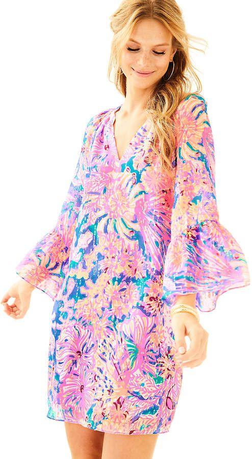 Lilly Pulitzer Matilda Silk Tunic Dress | FASHION | summer ...