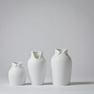 Dress up vase by Nendo