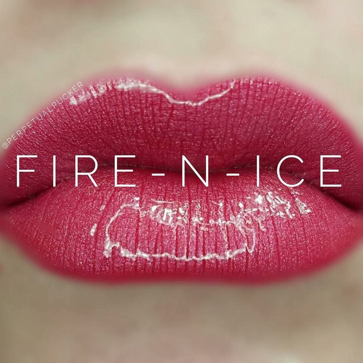 National Kiss And Makeup Day: Fire 'n Ice LipSense @lipsforeveryoccasion