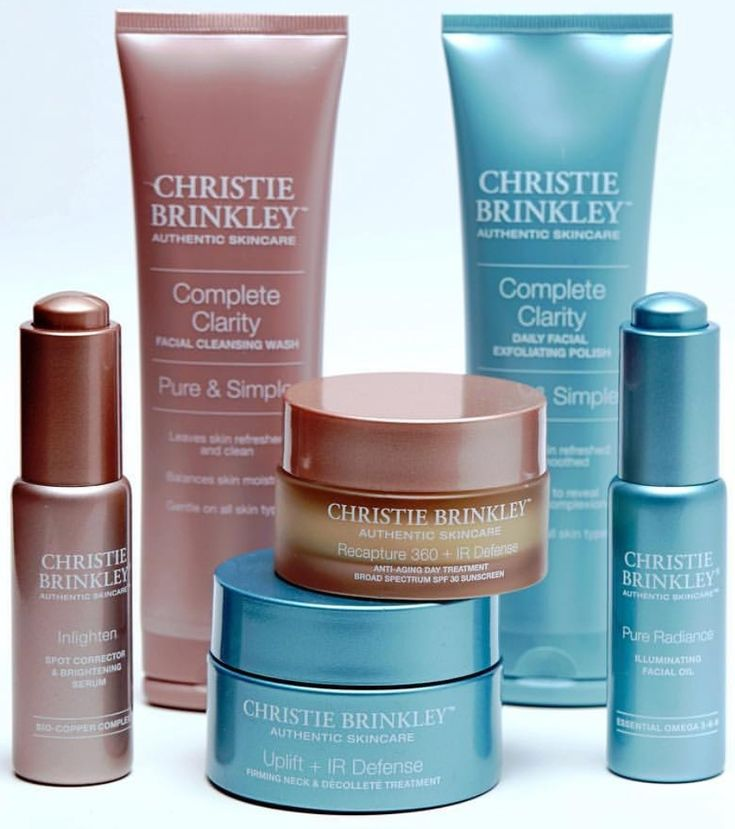 Christie brinkley skincare reduce your skin problems