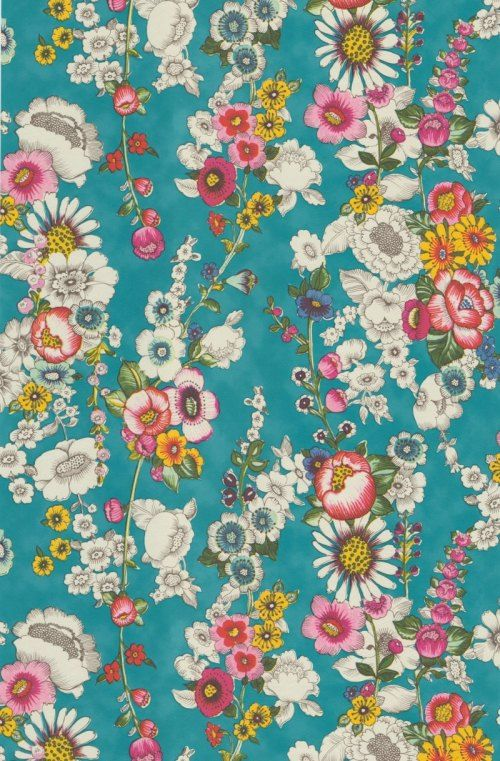 Die besten 25+ Tapete blumen Ideen auf Pinterest Blumen wand - tapete für die küche