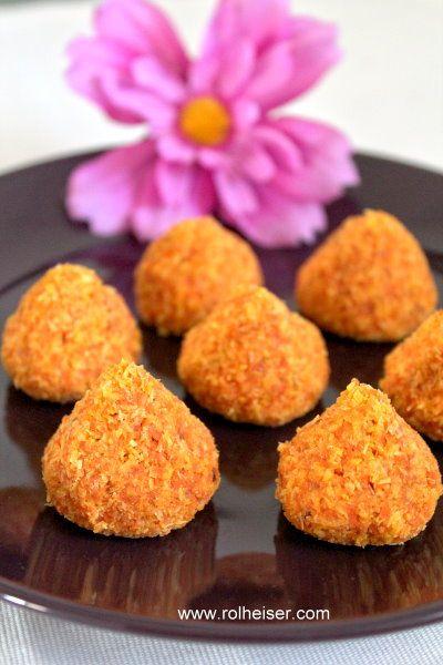 Вкуснейшее Морковно - Кокосовое Сыроедческое Печенье