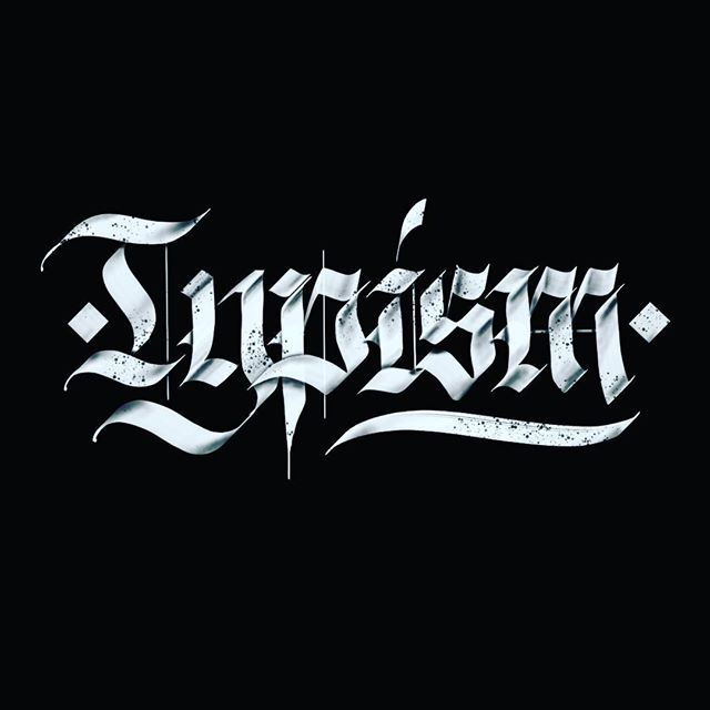 Thanks to the lovely people over at @typism for sharing my work and generating interest in what I'm doing - it's very much appreciated. Keep up the excellent work 🤘⚡️.#typism #calligraphy #type #typography #gothic #ipadlettering #blackletter #blackettersociety #fraktur #heavymetal #3d #3dtype