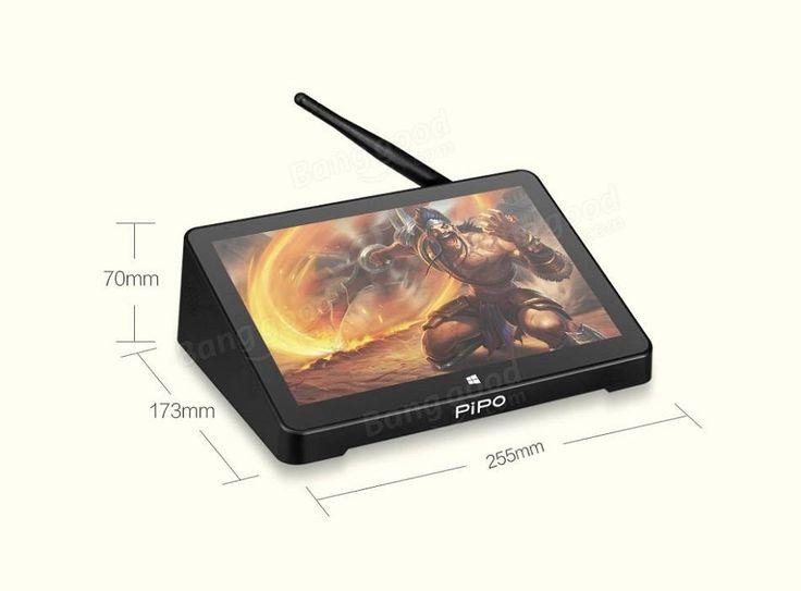 Original Box PIPO X10 Pro 64GB Intel Z8350 Quad Core 10.8 Inch Dual OS TV Box Tablet
