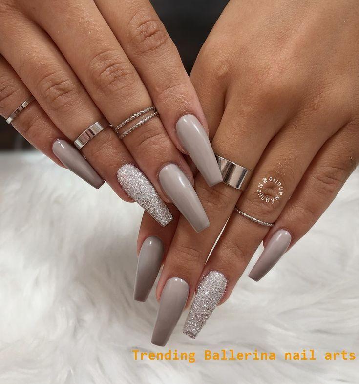 Ballerina Nails On Trend 1 Nailideas Nailart In 2020 Nail Designs Winter Acrylics Coffin Nails Long Ballerina Nails