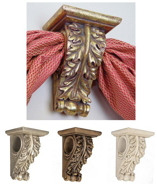 sale 50 menagerie corsica drapery hardware 2 rod pole sconce scarf bracket ebay for the