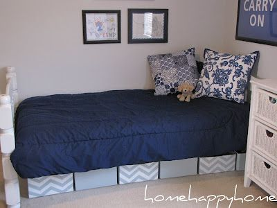 17 best ideas about under bed storage boxes on pinterest - Diy under bed storage ideas ...