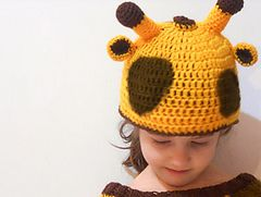 Ravelry: Giraffe Beanie pattern by Carla Medda