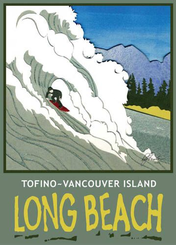Artist: BC Collection Travel Series, Title: Long Beach Wave,Tofino BC - click for larger image