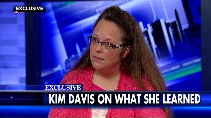 Kim Davis: People Who Accuse Me of Hatred or Bigotry Don't Know Me