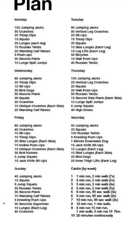 I Think This Is A Good Workout To Do On Top Of Lacrosse Workouts.