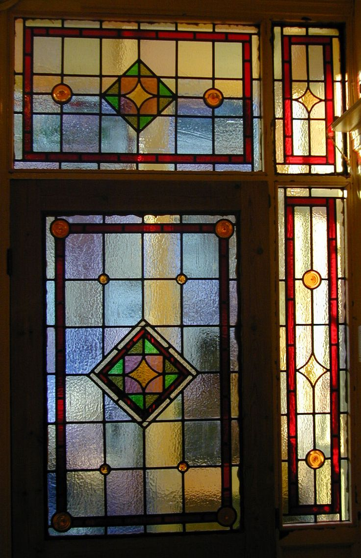 406 best stained glass window corners and valances images for Decorative window film stained glass victorian
