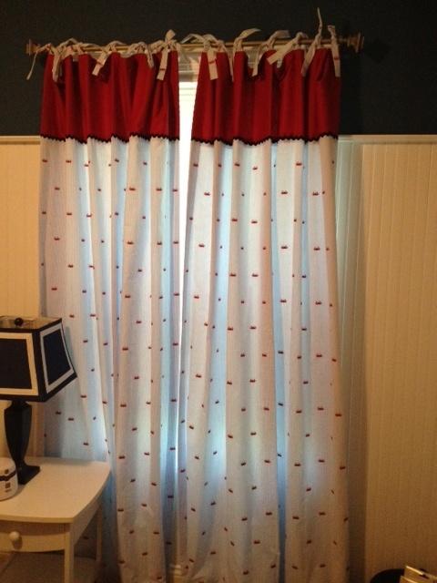 crab curtains