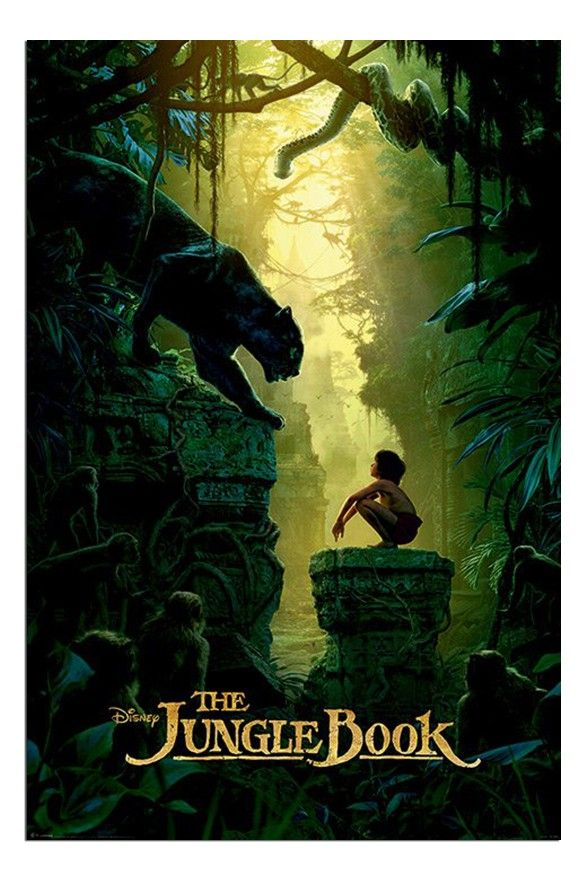 The Jungle Book Bagheera & Mowgli Teaser Poster | iPosters