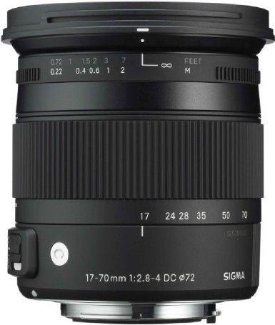 Sigma 884954 - Objetivo para Canon (distancia focal 17-70mm, apertura f/2.8-22, estabilizador) color negro - Amazon.es: Sigma