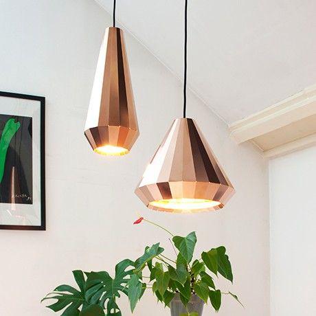 cl 25 h ngeleuchte kupfer von david derksen design. Black Bedroom Furniture Sets. Home Design Ideas