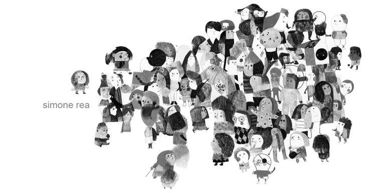 Mooie illustraties van Simone Rea