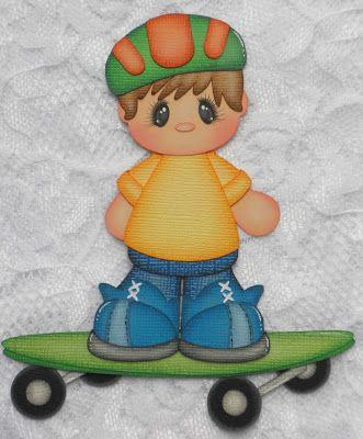 Treasure Tot Sam created by Barbara (Paper Piecing Memories by Babs)
