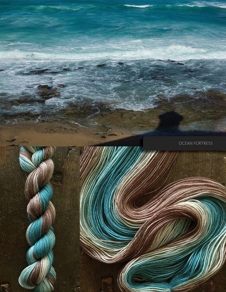 The Blue Brick · hand-dyed ombré yarn