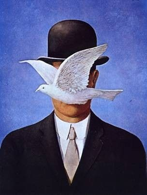 The Man in the Bowler Hat — Rene Magritte