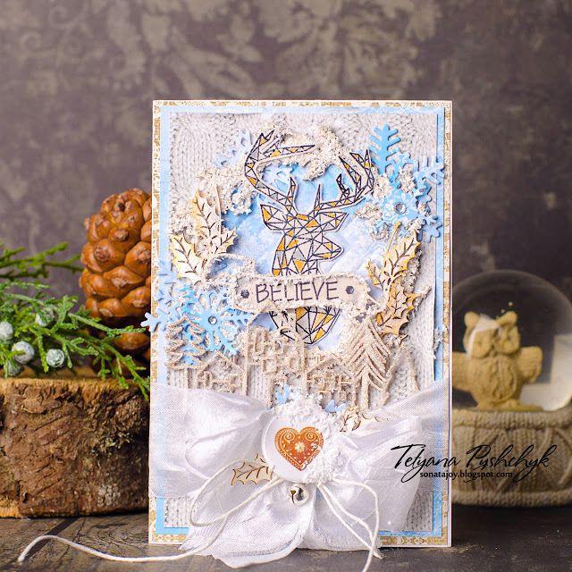 Enjoy your life: Уютные открыточки для Scrapiniec