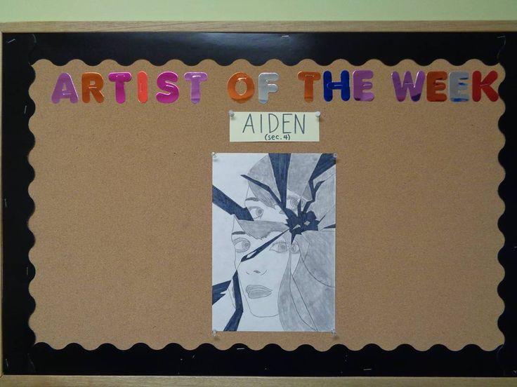 The artist of the week! #NSAL #NSALArt #art