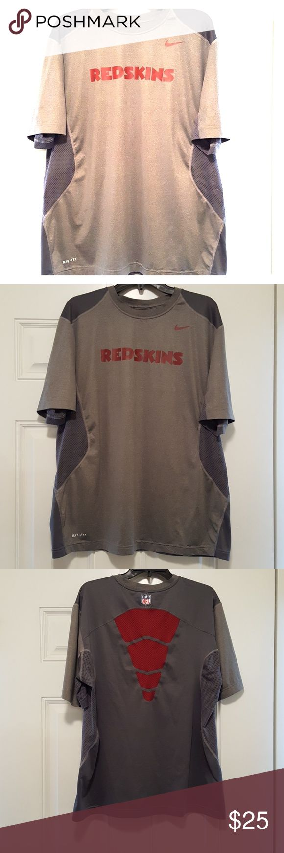 Washington Redskins Dri Fit T-shirt Like New Nike Shirts Tees - Short Sleeve