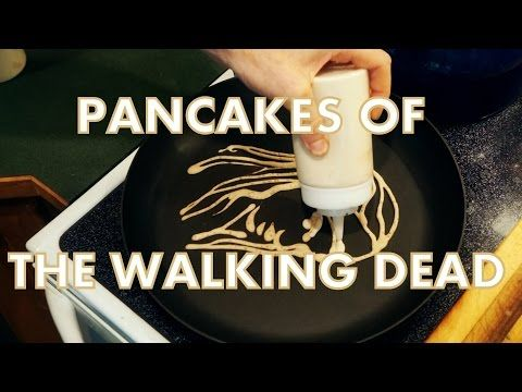 Artful Pancake Sculptures Portraying Characters From AMC's Hit Television Series 'The Walking Dead'