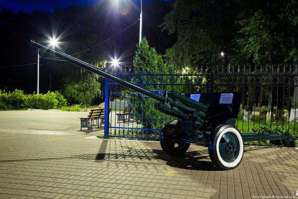 пушка в парке Победы