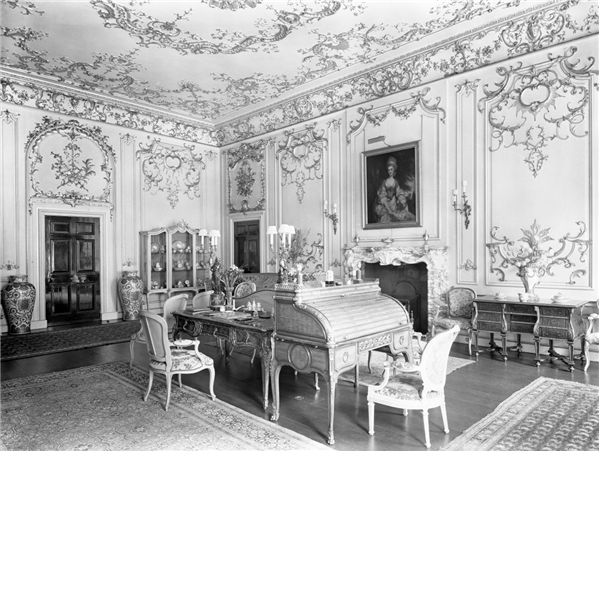 Abandoned Buildings Newcastle Uk: Drawing Room. Chesterfield House, London, Destroyed 1934