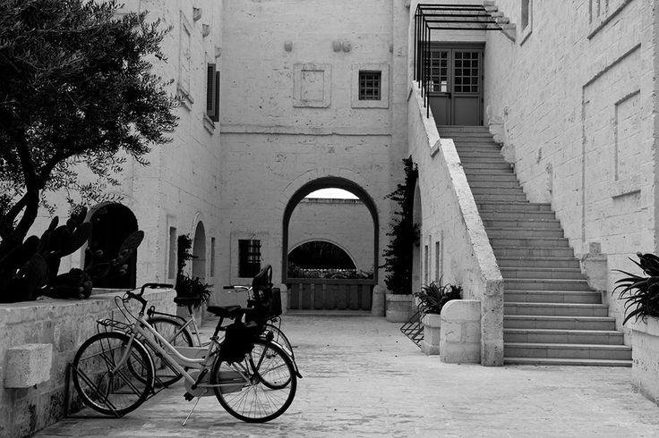 Take time to reflect at Borgo Egnazia.