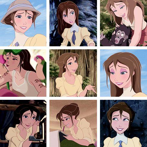 Jane Porter << favorite Disney lady