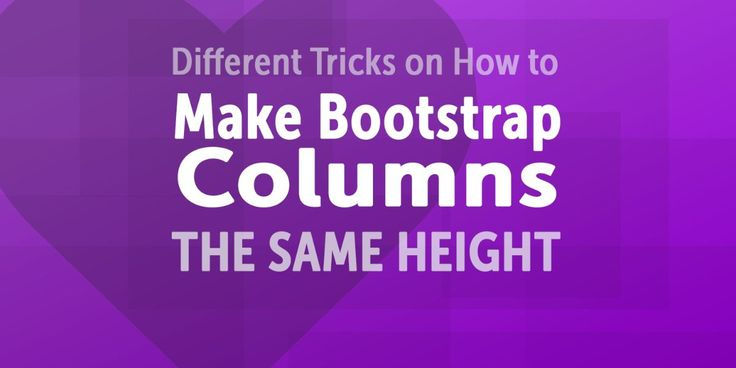 Bootstrap 3 (and now Bootstrap 4) are amazing CSS frameworks that can make the…