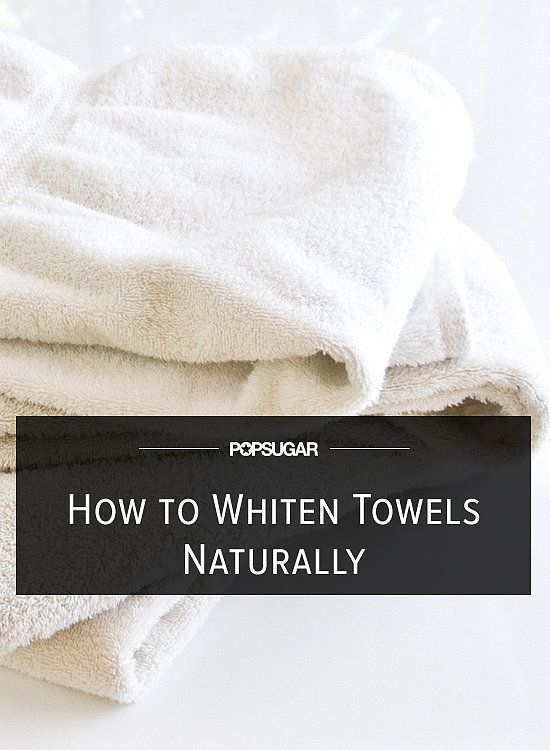 how to clean dingy towels