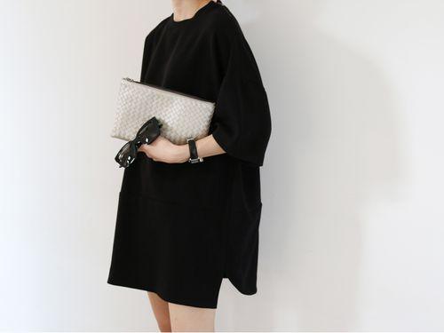 MINIMAL   CLASSIC: loose mini dress