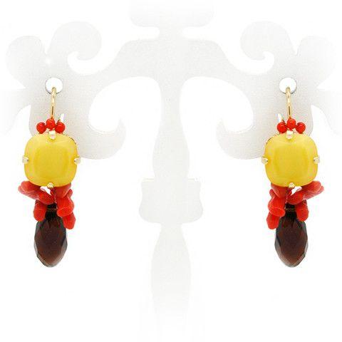 Gele sieraden, armbanden, kettingen en oorbellen - Applepiepieces