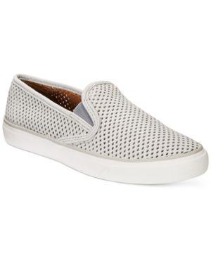Sperry Women's Seaside Slip-On Sneakers - Gray 6.5M