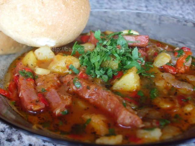 Mâncare de cartofi cu scariţă
