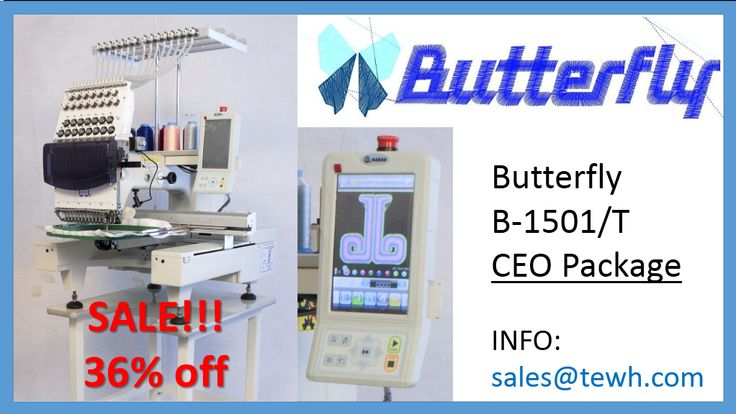 Just for #48Hours  The CEO Special Includes: http://www.theembroiderywarehouse.com/xcart/butterfly-b-1501-t-ceo-package.html