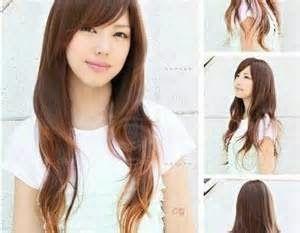 model rambut layer panjang lurus