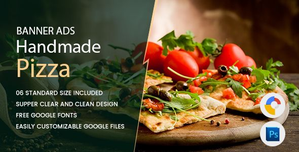 Pizza Banners HTML5 - GWD