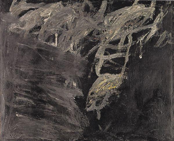 toniiu:    Cy Twombly - Untitled, 1952