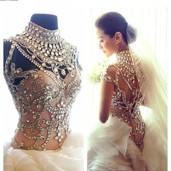Sumamente enjoyado vestido de novia - Maricar Reyes-Poon