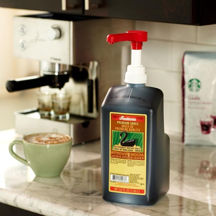 Fontana™ Bittersweet Chocolate Mocha Sauce Coffee flavor
