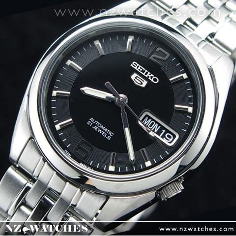 Seiko 5 Automatic Watch See-thru Terug SNK393K1